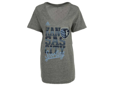 Sporting Kansas City adidas MLS Women's Inside The Lines T-Shirt