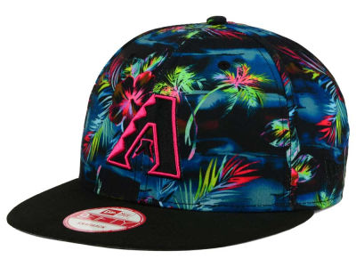 Arizona Diamondbacks New Era MLB Dark Tropic 9FIFTY Snapback Cap