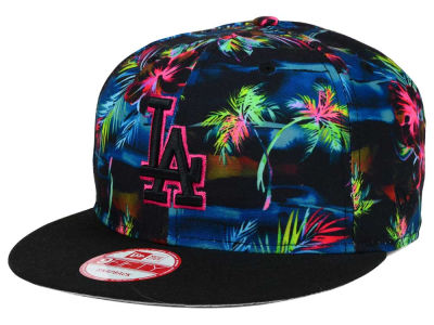 Los Angeles Dodgers New Era MLB Dark Tropic 9FIFTY Snapback Cap