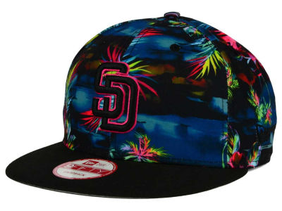 San Diego Padres New Era MLB Dark Tropic 9FIFTY Snapback Cap