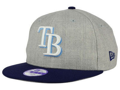Tampa Bay Rays New Era MLB Youth Lil Heather Team Color 9FIFTY Snapback Cap