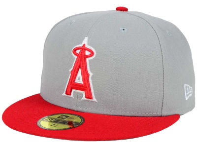 Los Angeles Angels New Era MLB The Playoff Push 59FIFTY Cap
