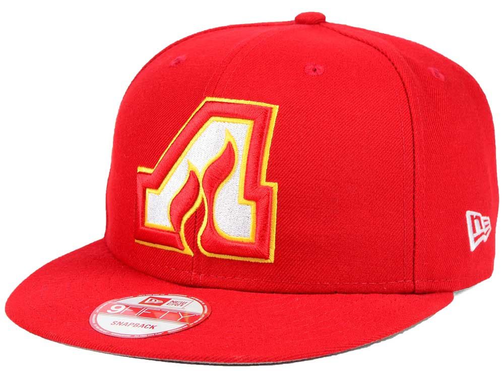 162a3c2e3d2 Atlanta Flames New Era NHL All Day 9FIFTY Snapback Cap