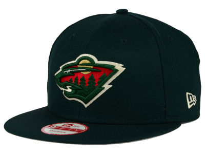 Minnesota Wild New Era NHL All Day 9FIFTY Snapback Cap