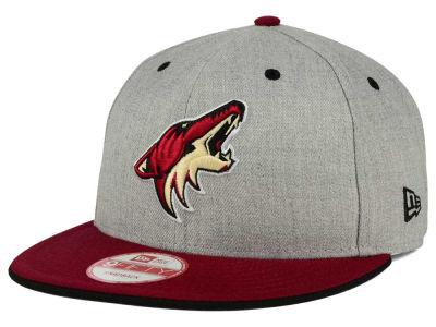 Phoenix Coyotes New Era NHL Heather Team Color 9FIFTY Snapback Cap