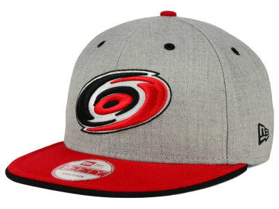 Carolina Hurricanes New Era NHL Heather Team Color 9FIFTY Snapback Cap