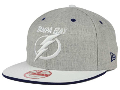 Tampa Bay Lightning New Era NHL Heather Team Color 9FIFTY Snapback Cap