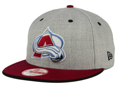 Colorado Avalanche New Era NHL Heather Team Color 9FIFTY Snapback Cap