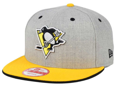 Pittsburgh Penguins New Era NHL Heather Team Color 9FIFTY Snapback Cap