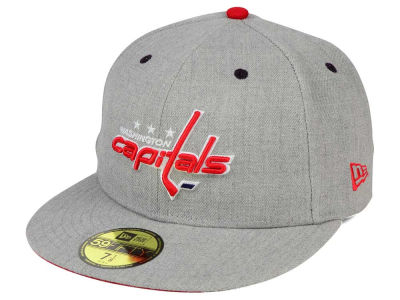 Washington Capitals New Era NHL Heather TC 59FIFTY Cap