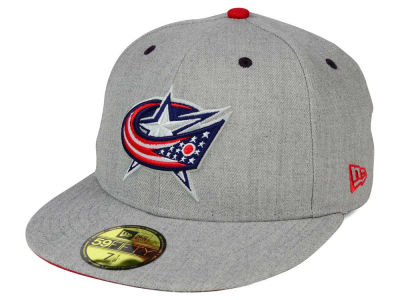 Columbus Blue Jackets New Era NHL Heather TC 59FIFTY Cap