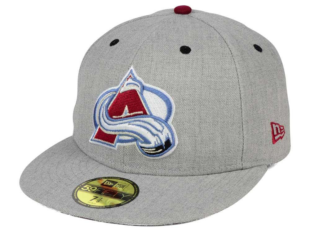 4adf4530c29 Colorado Avalanche New Era NHL Heather TC 59FIFTY Cap