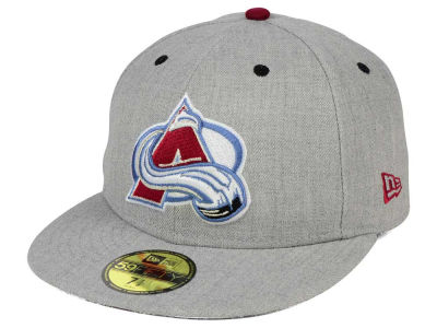 Colorado Avalanche New Era NHL Heather TC 59FIFTY Cap
