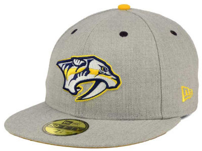Nashville Predators New Era NHL Heather TC 59FIFTY Cap