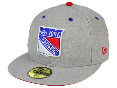 New York Rangers New Era NHL Heather TC 59FIFTY Cap