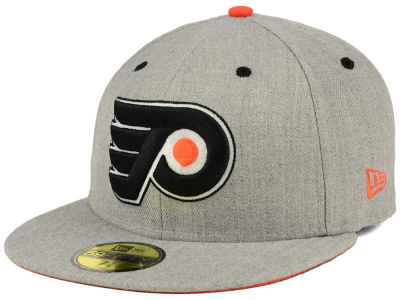 Philadelphia Flyers New Era NHL Heather TC 59FIFTY Cap