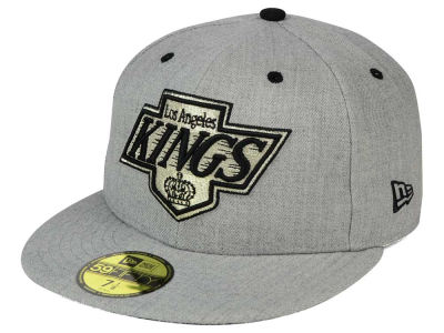 Los Angeles Kings New Era NHL Heather TC 59FIFTY Cap