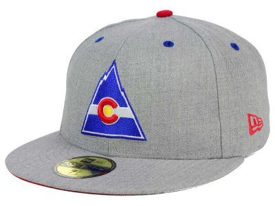 Colorado Rockies New Era NHL Heather TC 59FIFTY Cap