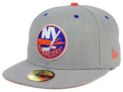 New York Islanders New Era NHL Heather TC 59FIFTY Cap