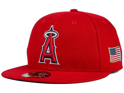 Los Angeles Angels New Era MLB AC 9-11 Patch 59FIFTY Cap