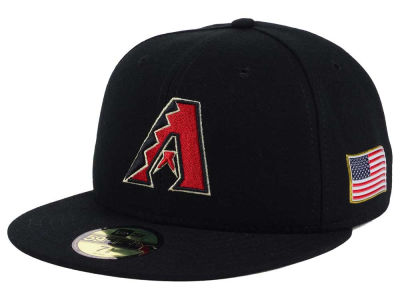 Arizona Diamondbacks New Era MLB AC 9-11 Patch 59FIFTY Cap
