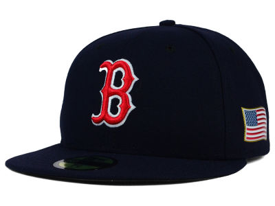Boston Red Sox New Era MLB AC 9-11 Patch 59FIFTY Cap