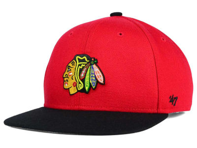 Chicago Blackhawks '47 NHL Youth '47 Lil Shot Snapback Cap