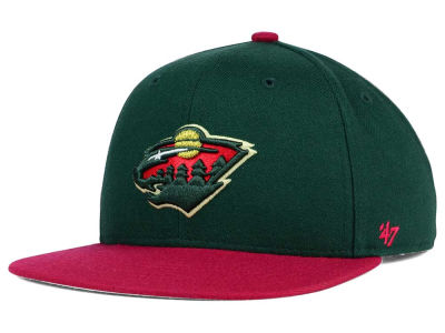 Minnesota Wild '47 NHL Youth '47 Lil Shot Snapback Cap