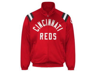 Cincinnati Reds GIII MLB Men's Centerfield Track Jacket