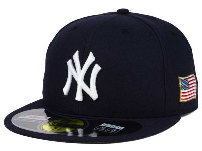 New York Yankees New Era MLB AC 9-11 Patch 59FIFTY Cap