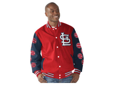 St. Louis Cardinals GIII MLB Men's Power Hitter Commemorative Jacket