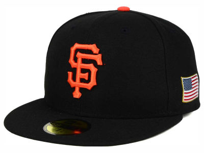 San Francisco Giants New Era MLB AC 9-11 Patch 59FIFTY Cap