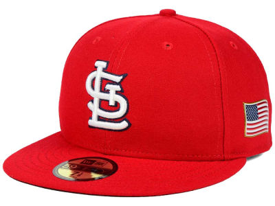 St. Louis Cardinals New Era MLB AC 9-11 Patch 59FIFTY Cap