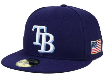 Tampa Bay Rays New Era MLB AC 9-11 Patch 59FIFTY Cap