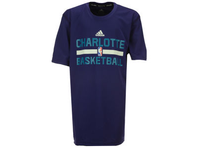 Charlotte Hornets adidas NBA Youth Practice Wear Graphic T-Shirt