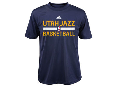 Utah Jazz NBA Youth Practice Wear Graphic T-Shirt