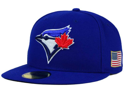 Toronto Blue Jays New Era MLB AC 9-11 Patch 59FIFTY Cap