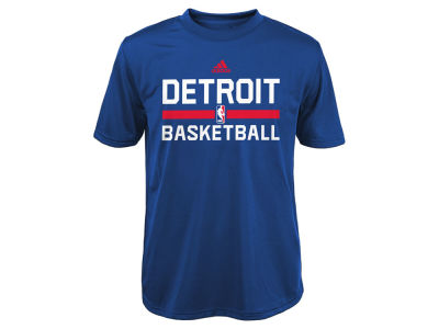 Detroit Pistons NBA Youth Practice Wear Graphic T-Shirt