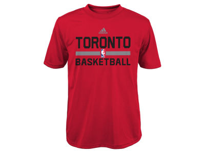 Toronto Raptors adidas NBA Youth Practice Wear Graphic T-Shirt