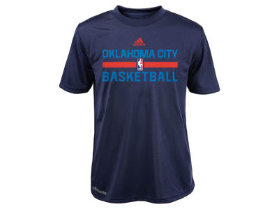 Oklahoma City Thunder adidas NBA Youth Practice Wear Graphic T-Shirt