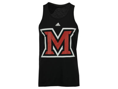 Miami (Ohio) Redhawks adidas NCAA Men's Huge Preferred Logo Tank