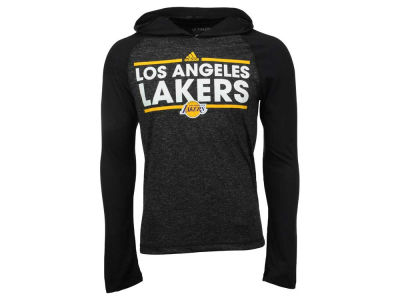 Los Angeles Lakers adidas NBA Men's Dassler Climalite Hoodie