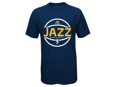Utah Jazz NBA Youth Practice Wear Ultimate T-Shirt