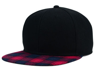 Mad Plaid Snapback Hat