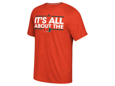 Miami Hurricanes adidas NCAA Men's Dassler Local T-Shirt