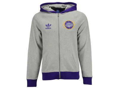 Los Angeles Lakers adidas Originals NBA Men's Originals Full Zip Hoodie