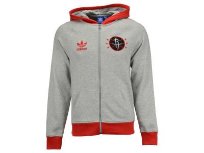 Houston Rockets adidas Originals NBA Men's Originals Full Zip Hoodie
