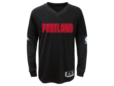 Portland Trail Blazers NBA Youth On Court Long Sleeve Shooter Shirt