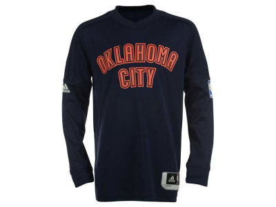 Oklahoma City Thunder NBA Youth On Court Long Sleeve Shooter Shirt