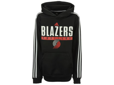 Portland Trail Blazers adidas NBA Youth Playbook Hoodie